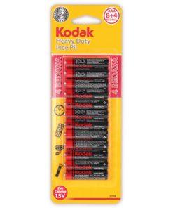 Kodak 8+4 1,5V AAA Çinko ince Pil 3A Heavy Duty 12li paket