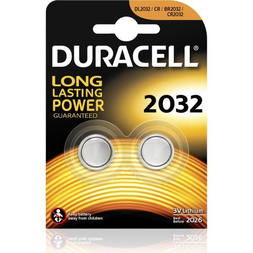 Duracell 2032 3v Lityum Para Pili 2li Saat Pili DL2032 CR BR2032 CR2032 Düğme Pil