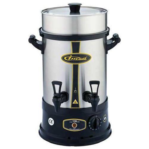 Çay Makinesi Otomatı Elektrikli Paslanmaz Çelik Semaver Makinası 120 Bardak