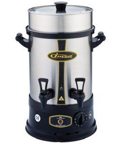Çay Makinesi Otomatı Elektrikli Paslanmaz Çelik Semaver Makinası 30 Bardak
