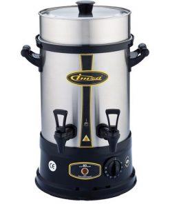 Çay Makinesi Otomatı Elektrikli Paslanmaz Çelik Semaver Makinası 80 Bardak