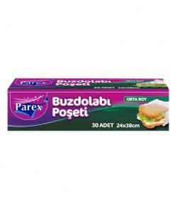 Buzdolabı Poşeti Orta Boy 30 Adet Parex 2107502