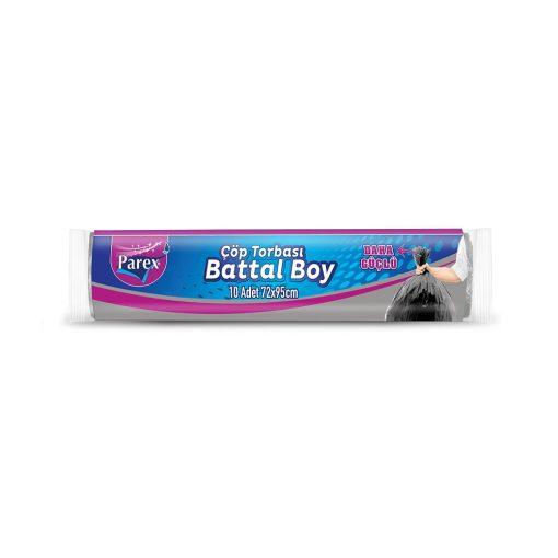 Çöp Poşeti Battal Boy Parex 1909284 Standart Çöp Torbası 10lu