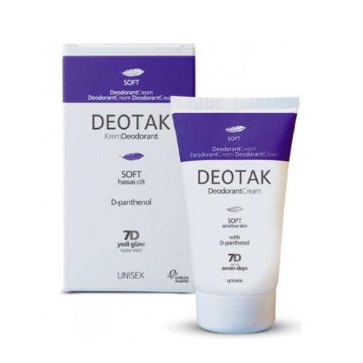 Deotak Krem Deodorant 35Ml Soft Unisex Pantenol Hassas Cilt