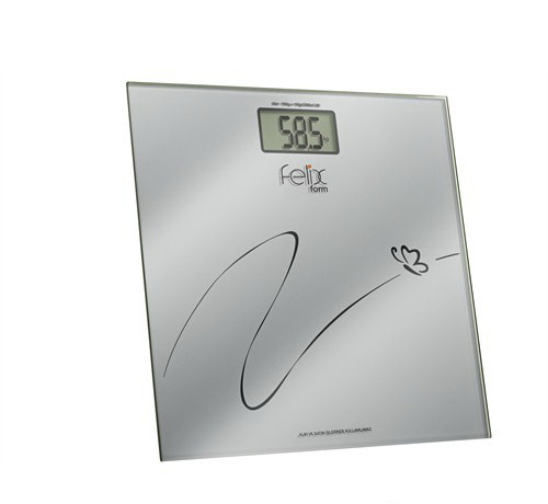 Felix FL593 Form Cam Banyo Tartısı Dijital Baskül