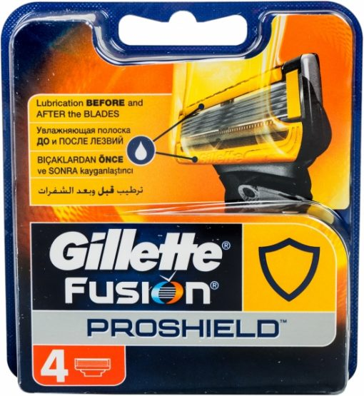 Gillette Fusion Proshield Tıraş Bıçağı Yedek Bıçak Kartuş 4lü FlexBall Fusion5
