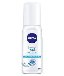 Nivea Fresh Natural Cam Bayan Deodorant 75ml Gazsız Kadın Deo