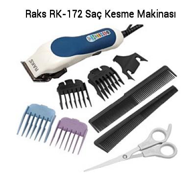 Raks RK-172 Profesyonel Saç Kesme Makinesi Set