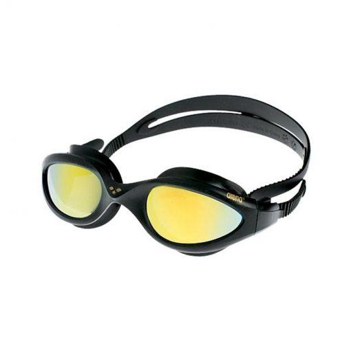 Arena Imax Mirror Aynalı Yüzücü Gözlüğü Havuz Deniz Sporcu Yüzme Gözlüğü Siyah