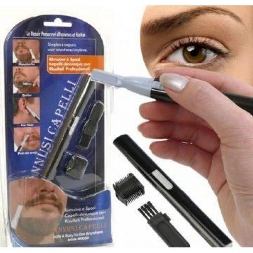 Burun Kılı Alma Tüy Sakal Saç Kaş Düzeltme Kesme Tıraş Makinesi