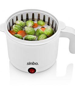Sinbo Buharlı Pişirme Çorba Pilav Sebze Yumurta Haşlama Makinası