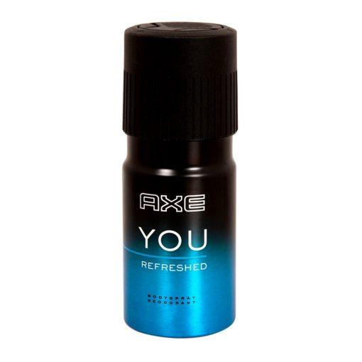 Axe You Refreshed Deodorant Vücut Spreyi 150ml Kalıcı Koku Sprey Bodyspray