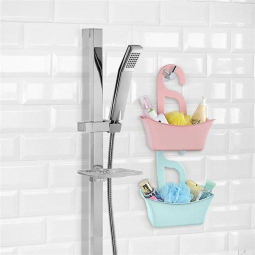 Çok Amaçlı Plastik Banyo Sepeti Delikli Sepet