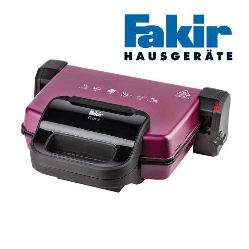 Fakir Izgara ve Tost Makinesi Gravis Violet 1800W Elektrikli Tost Makinası