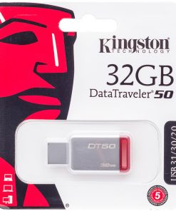 Kingston USB 3.1 - 32GB DataTraveler50 Bellek Flash Disk Hafıza