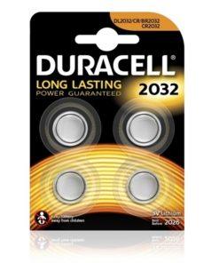 Duracell 2032 3v Lityum Para Pili 4lü Saat Pili DL2032 CR BR2032 CR2032 Düğme Pil