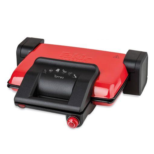 Fakir Izgara ve Tost Makinesi Torreo Elektrikli Tost Makinası Kırmızı