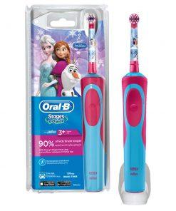 Oral B Çocuk Diş Fırçası Frozen Elsa Karlar Ülkesi Çocuklar İçin Şarj Edilebilir Pilli