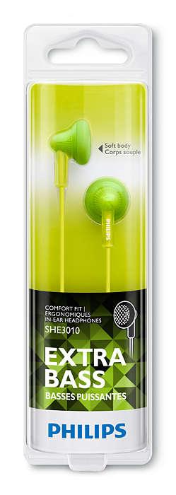 Philips Extra Bass Kulaklık içi Kulaklık Yeşil She3010GN/00