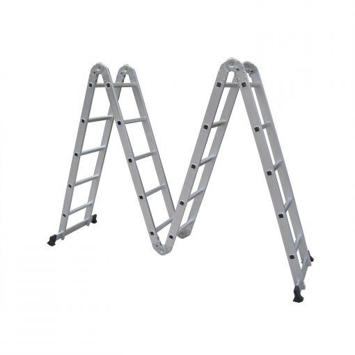 4x4 Akrobat Merdiven Çok Amaçlı Merdiven Kalın Profil Doğrular-Perilla 51065