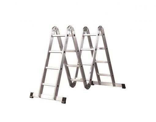 4x5 Akrobat Merdiven Çok Amaçlı Merdiven Kalın Profil Doğrular-Perilla 51066