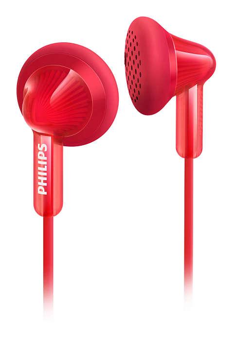 Philips Extra Bass Kulaklık içi Kulaklık Kırmızı She3010rd/00