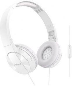 Pioneer Mikrofonlu Kulaklık Kafabantlı Kulak Üstü Kulaklığı Beyaz