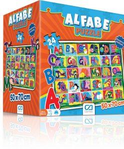 Alfabe Eğitici Puzzle 24 Parça Yapboz Oyuncak Ca Games 5027 Okul Öncesi