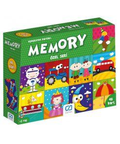 Eğitici Oyuncak Memory Özel Seri Kavram Kartları Oyun Seti Ca Games 5039