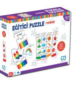 Eğitici Oyuncak Memory Renkler Kavram Kartları Oyun Seti Ca Games 5029