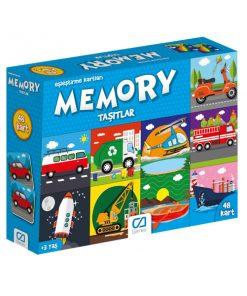 Eğitici Oyuncak Memory Taşıtlar Eşleştirme Kartları Oyun Seti Ca Games 5038