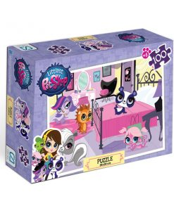 Littlest Pet Shop Puzzle 100-1 Yap boz Oyuncak Ca Games 5011