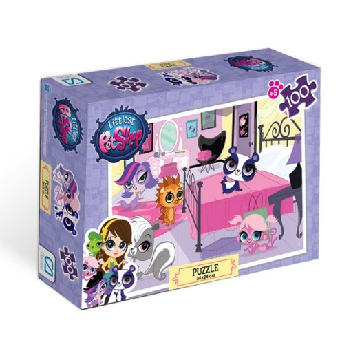 Littlest Pet Shop Puzzle 100-1 Yap boz Oyuncak Ca Games 5011