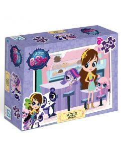 Littlest Petshop 100 parça Puzzle -2 Yap boz  Ca Games 5012