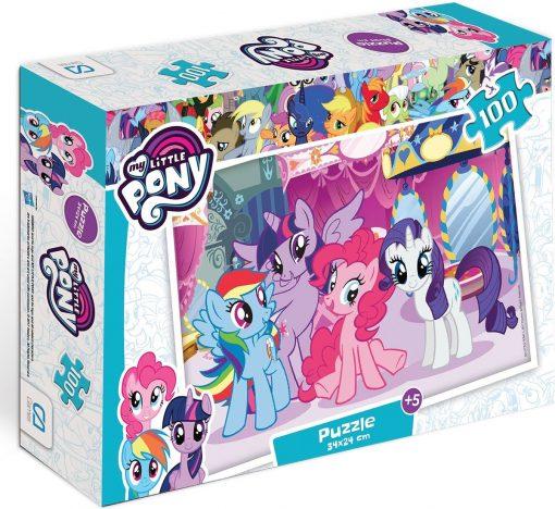 My Little Pony100-2 Puzzle 100 Parça Yap boz Oyuncak  Ca Games 5010