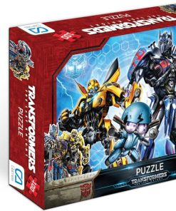Transformers 100-2 Puzzle 100 Parça Yap boz Oyuncak Bumblebee & Optimus Prime Ca Games 5008