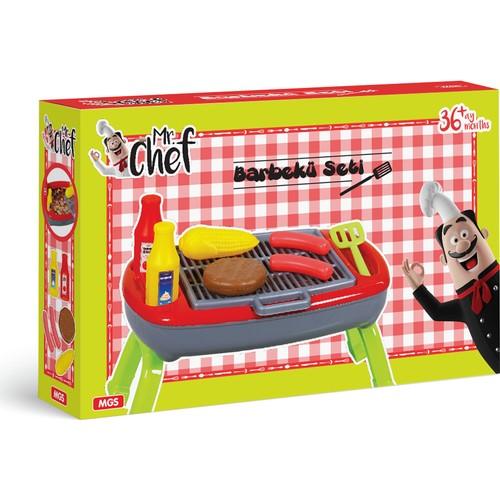 Barbekü Mangal Seti Mr. Chef Oyuncak MGS 5648