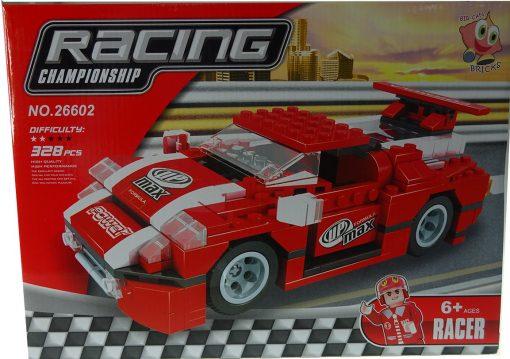 Bricks Yarış Arabası Oyuncak 328 Parça Lego Bircan 0131-26602-E
