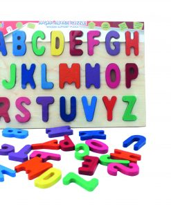 Eğitici Alfabe Puzzle Oyuncak Yapboz Okul Öncesi Eğitim Oyuncağı Bemi 1611