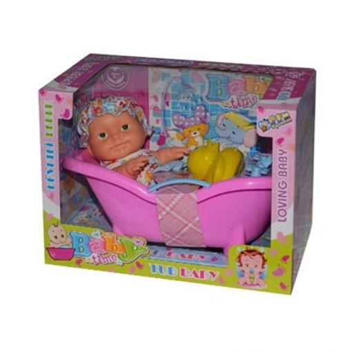 Küvetli Et Bebek Oyuncak Kutulu Can 8177-08