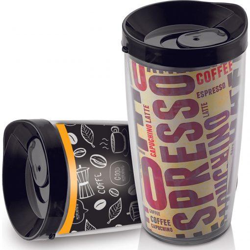 Sinbo Plastik Mug Çift Cidarlı Kahve Bardağı 500 Ml Sıcak İçecek Kupası ZCM7201