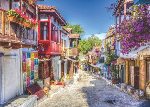 1000 Parça Puzzle Yap boz Kaş 68x48Keskin Color Puzz