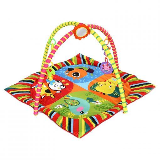 Bebek Oyun Halısı Kare Aynalı Birlik Y-653