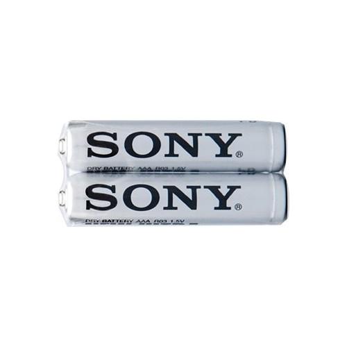 Çinko Karbon İnce (AAA) Pil 2li Shrink Sony