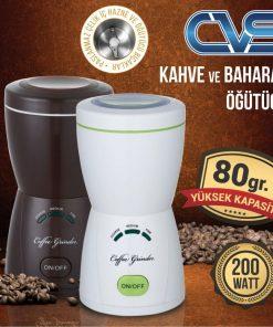 Cvs Kahve Değirmeni Öğütücü - Baharat öğütme Makinası 200W