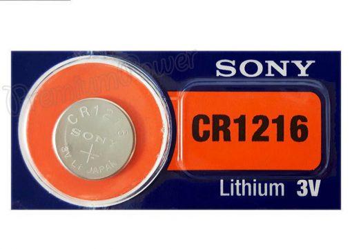 Düğme Pil 3 Volt Sony CR1216 Lithium Pil