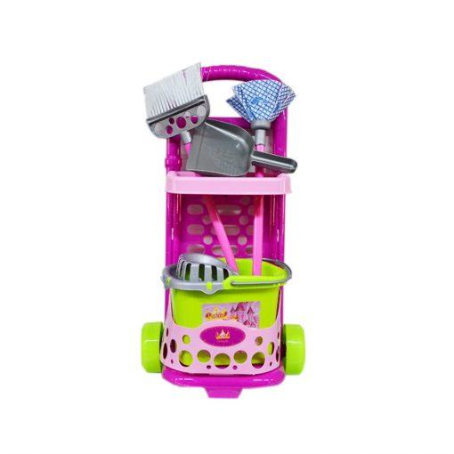 Little Princess Temizlik Seti Arabalı Oyuncak MGS Küçük Prenses