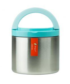 Penguen Paslanmaz Çelik Tek Katlı Yemek Termosu Sefer Tası Png1301 Mavi