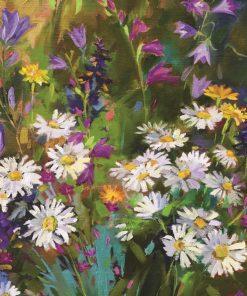 1000 Parça Puzzle Yap boz Papatya Tarlası 68x48Keskin Color Puzz