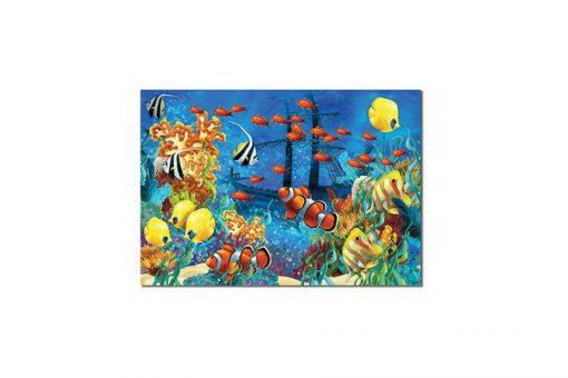 150 Parça Çocuk Yap boz 35x50 Puzzle Keskin Color Puzz Deniz Model 10
